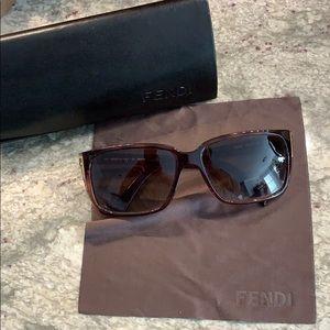 Tortoise Fendi sunglasses